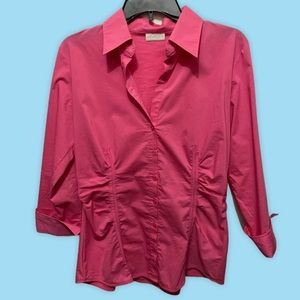 NY&C Button Down Pink Shirt